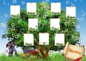Скачать сделать коллаж семейное дерево онлайн из фотографий