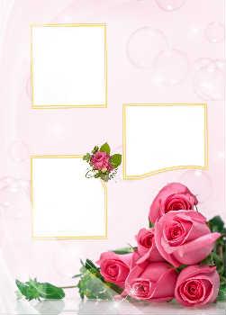 Более 370 бесплатных свадебных рамок для онлайн фотомонтажа